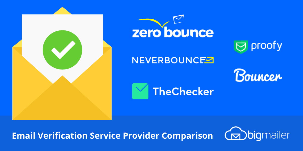 Email Verification Service Provider Comparison